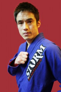 Kevin Chan wearing a Storm Gi