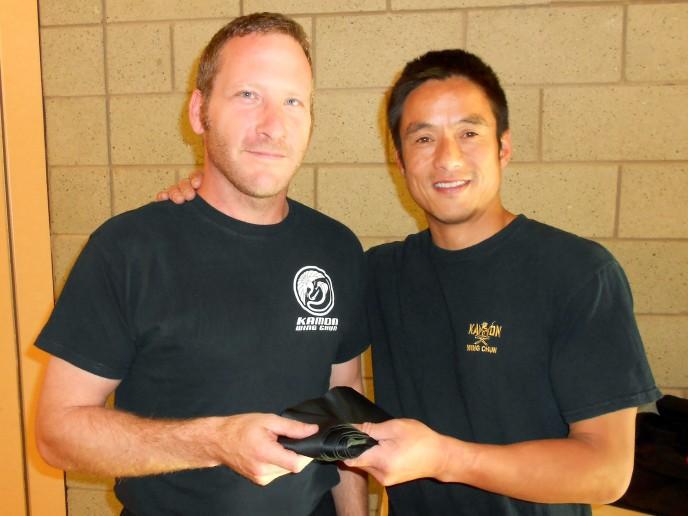 Lee Davis awarded Black Sash